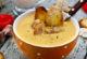 Суп з куркою і грінками