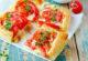 Квадратики з помідорами і сиром