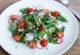 Салат з руколою і помідорами